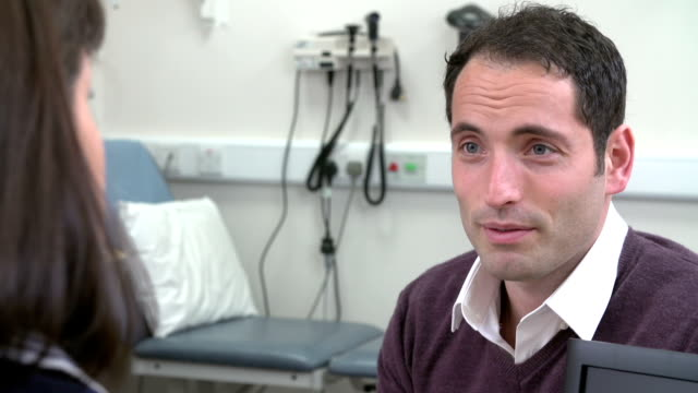 Consultant Meeting With Male Patient In Office video