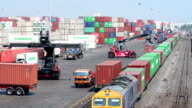 HD: Container logistics. video