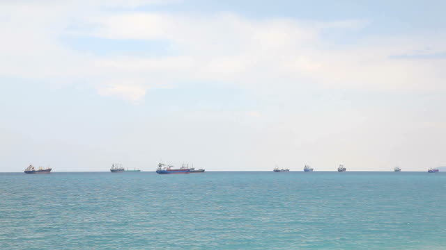 Container Ships video