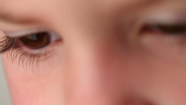 Contemplative Little Girl video