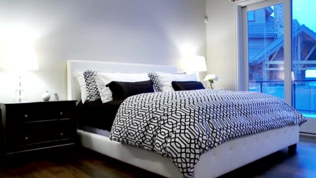 Contemporary bedroom video