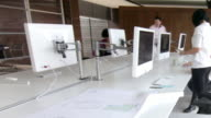 Contemporary creative business offices video
