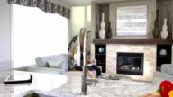 Contemporary Home Interior video