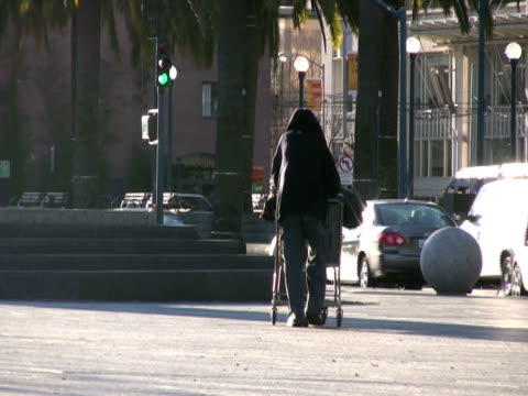 Contrast and Social issues: Homelessness in Glistening Sunlight video