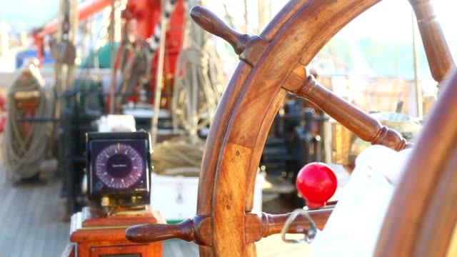 control and navigation of a sailing ship video