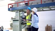 Control in a production hall video