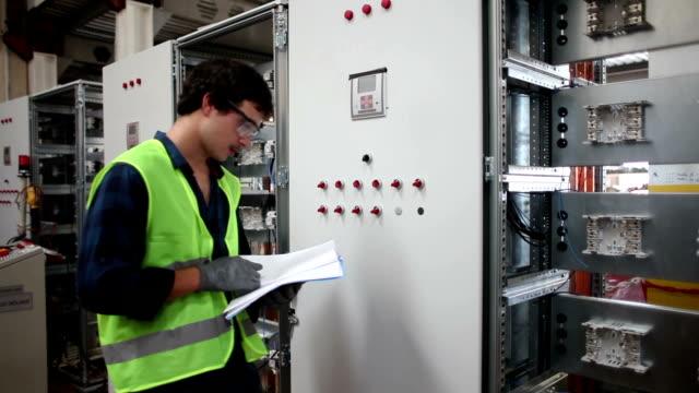 Control Room Engineers. video