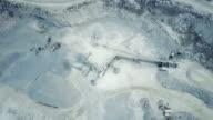 Conveyor belt in stone quarry video