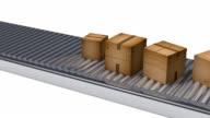 conveyor belt packs business video