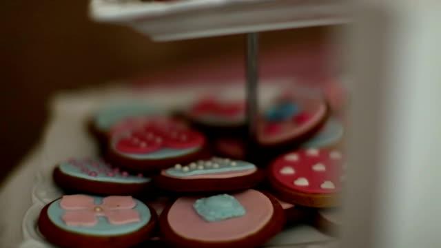 Cookies decoration video