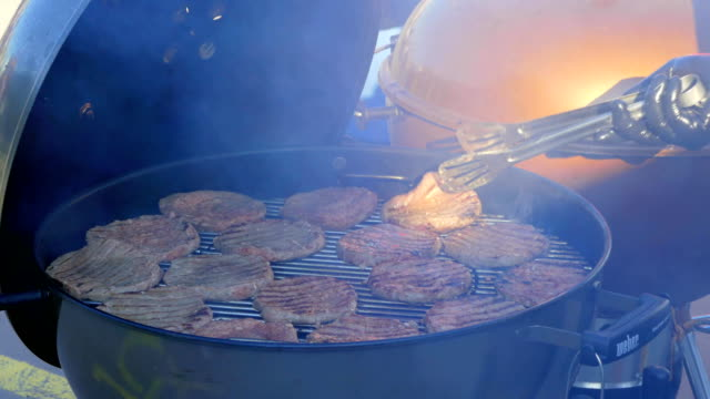 Cooking BBQ Chops video