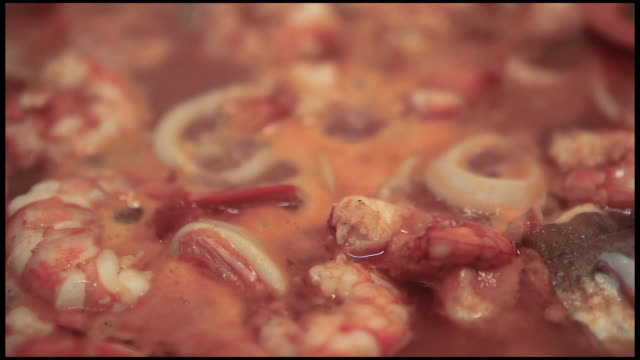 Cooking Food Fresh Fish Soup video