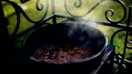 Cooking of pilaf with lamb video