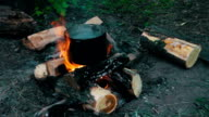 Cooking on the Campfire video