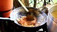 Cooking Pad Thai in Phuket video