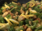 Cooking - Stir Fry Chicken and Vegetables video