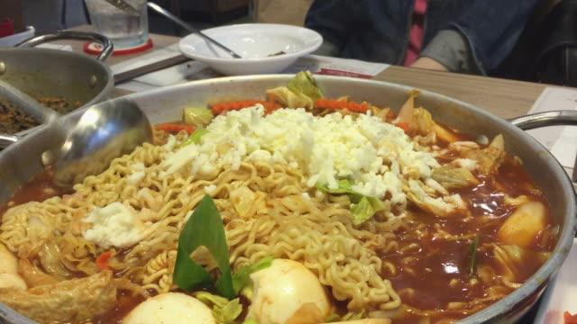 HD : cooking tukbokki , Korean food video