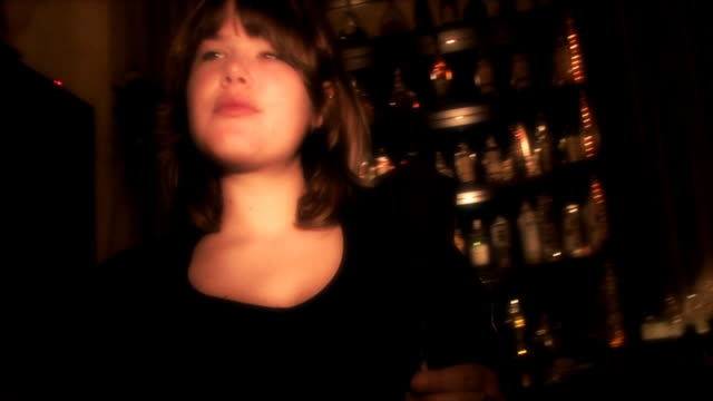 cool girl in a club video