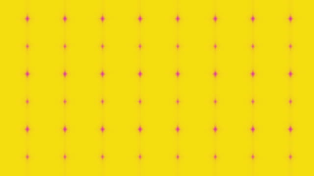 Cool vintage yellow and pink polka dot background video