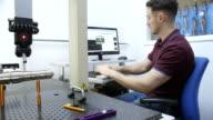 Coordinate Measuring Machine video