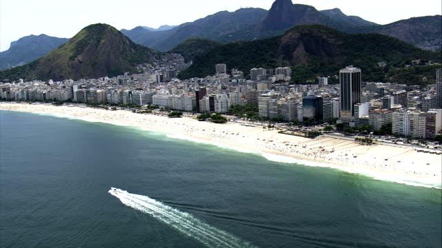 Copacabana  - Aerial View - Rio de Janeiro, Rio de Janeiro, Brazil video