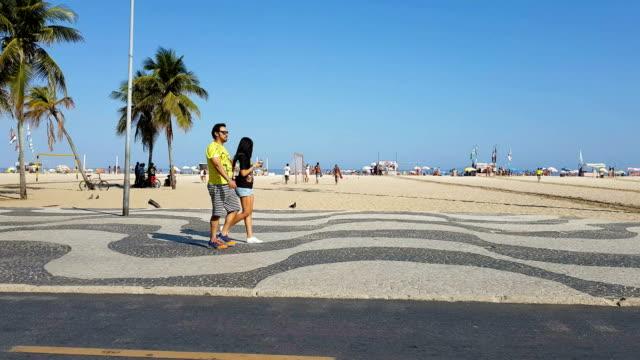 Copacabana Beach in Rio de Janeiro video