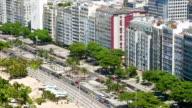 Copacabana Beach sidewalk video