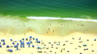 Copacabana Beachgoers video
