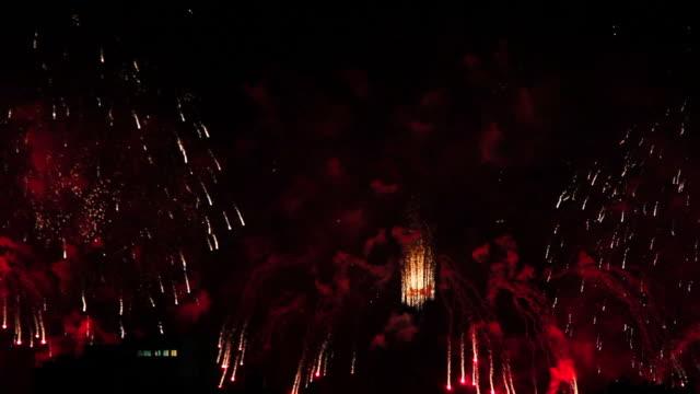 Copacabana Fireworks 2015 New Year Eve video