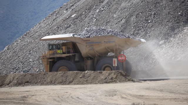 Copper mine Dumptruck video