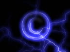 PAL: Copyright sign in lightning video