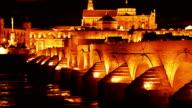 Cordoba. Roman bridge video