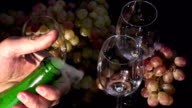 Cork Flying out of a Bottle of Champagne video