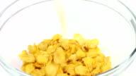 corn flakes with milk video