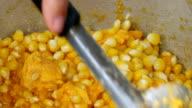 corn kernels video