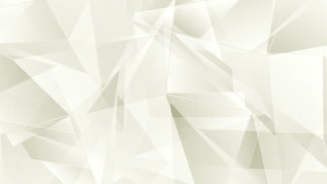 Corporate beige geometric polygonal video animation video