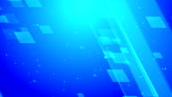 Corporate Glass Blue Loopable Background video
