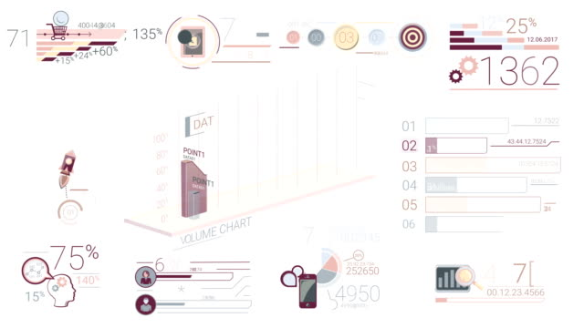 Corporate Infographic Elements video