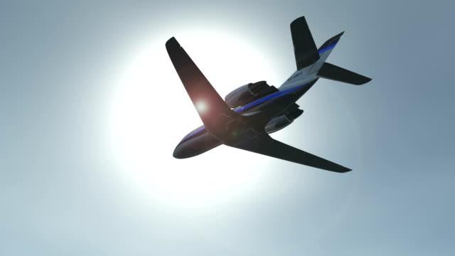 Corporate jet video