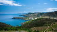 TIME LAPSE : Costa Brava Coastline video