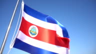 Costa Rica Flag video