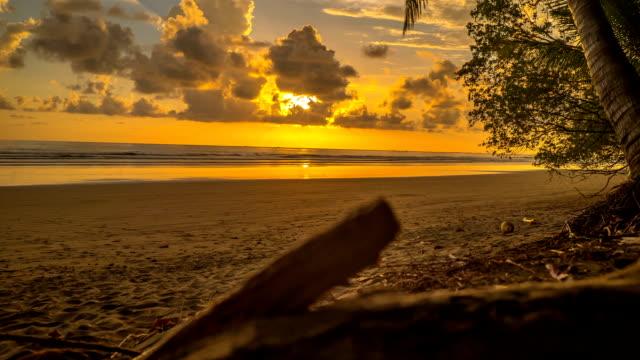 Costa Rica Sunset Time Lapse Uvita video