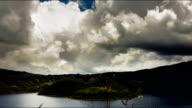 cotacachi lagoon in ecuador otavalo timelapse video