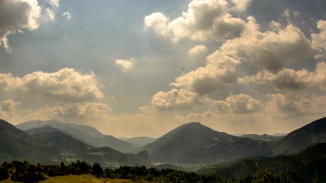 Cote d Azur Alps Gorge du Verdon rolling hills landscape video
