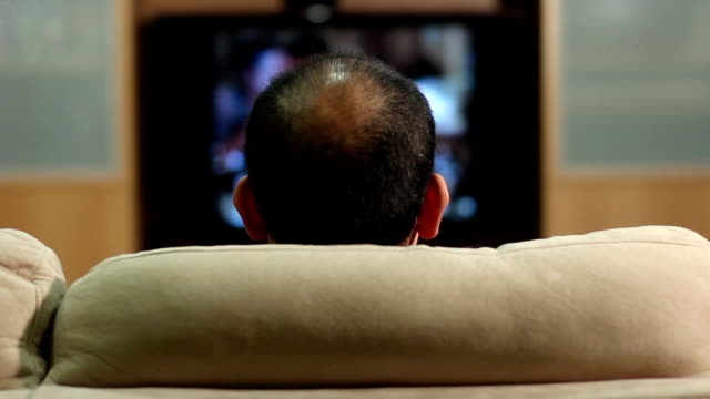 Couch Potato Turns off TV and Leaves video