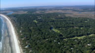 Cougar Point Golf Course  - Aerial View - South Carolina,  United States video