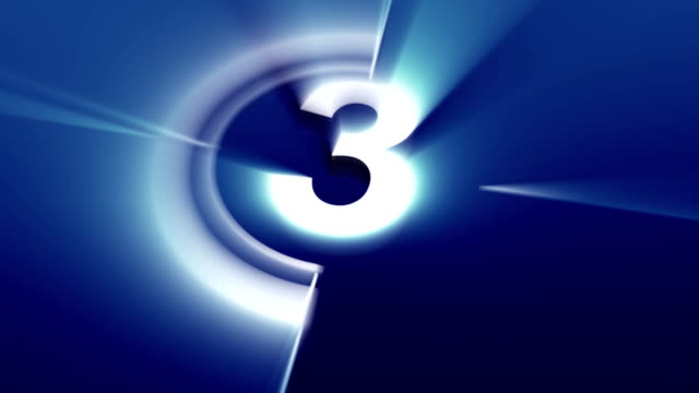 Countdown blue elevator video