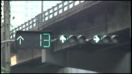 (HD1080i) Countdown Clock on Green and Orange, Yellow Traffic Lights video