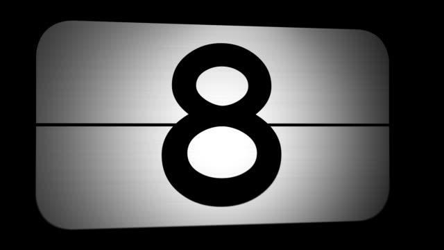 Countdown from 10 to 0 video