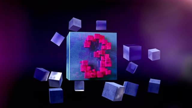 Countdown GO! Beautiful modern countdown 1-10. video